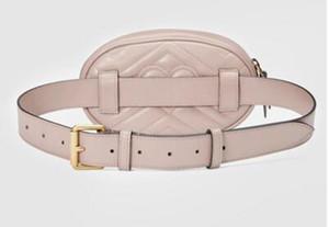 2019 NEW بو الرجال حقائب الكتف حقائب الكتف الصليب الجسم حقيبة يد المرأة الحقيبة الصغيرة البيج قماش الخصر حقائب # 2268