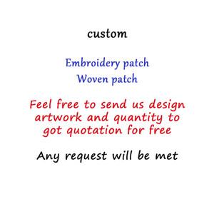 De Alta Qualidade Remendo Personalizado DIY Todo o Tipo De Ferro Em Tecidos Emblemas Para Roupas Bordados Bonitos Patches Applique