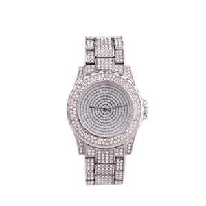 Ms Gold Quartz watches fashion Leisure Suit Steel belt watch Starry watch fashion new style wholesale