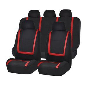 غطاء مقعد سيارة عالمية حجم 5 مقعد سيارة واقية كرسي ملحق الداخلية جيرسي النسيج غطاء مقعد السيارة