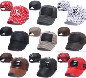 2018 klassische Golf Curved Visier Luxus Designer Hüte Vintage Snapback Cap Herren Sport Papa Hut Hip Hop Baseball verstellbare Kappen Casquette