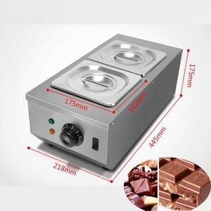 Qihang Top Niedrigerer Preis Schokolade Melting Pot Maschine Elektro Schokolade Melter Mischbehälter Maschine Schokolade zu schmelzen