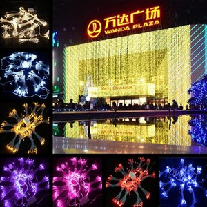 Wholesale DHL Free Shipping 10M x 5M 1600Leds 110V Curtain Lights LED Strings For Christmas Halloween Party Holiday Lighting 6 piece lot
