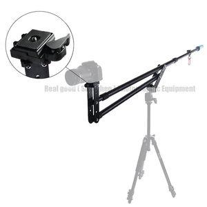 Nueva cámara de video de 7.5 pies Grúa de horca telescópica Mini portátil de viaje Jib Brazo de extensión Soporte Photo Studio Accesorios para DSLR DV