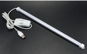2835 LED SMD buld DC 5V cavo USB barra LED 35 centimetri luce del tubo del LED Lampada da scrivania striscia tabella di lettura del libro di studio Lavoro d'ufficio Bambini