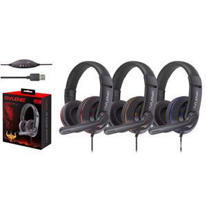 Q5 usb fone de ouvido fone de ouvido com microfone e controle de volume supper baixo gamer fone de ouvido para computador / media player / tablet
