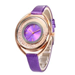 Le donne di modo le sabbie mobili della vigilanza guardano casuale le signore casuali del diamante degli orologi del diamante degli orologi del quarzo del regalo per le donne