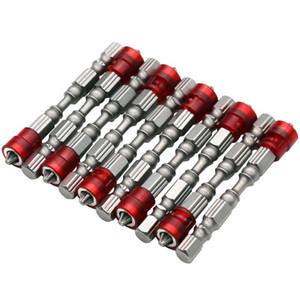 """5 unids PH2 Destornillador Magnético Bit Antideslizante S2 Acero Juego de Destornilladores Eléctricos 1/4 """"Hex Shank Single Head Power Tools"""