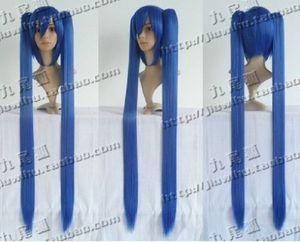 COS HATSUNE MIKU подвиды синий близнец хвост отделены тип партия косплей парик
