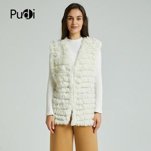 VT801 new women fashion warm fur vests rabbit hair fur coat warm with a variety of color optional beige black plus size