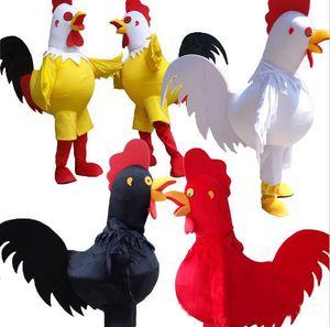 2018 خصم مصنع بيع الدجاج التميمة حلي للبالغين تنكرية حزب هالوين الديك زي شحن مجاني