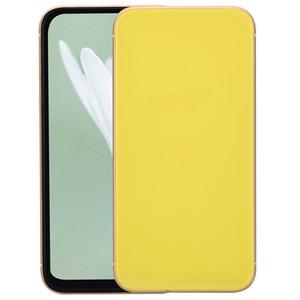 Cara ID Goophone 11 6.1 polegadas ecrã Todas 3G WCDMA Quad Core MTK6580 1GB 4GB de carregamento sem fio Smartphone Roxo Vermelho Preto Branco Verde Amarelo