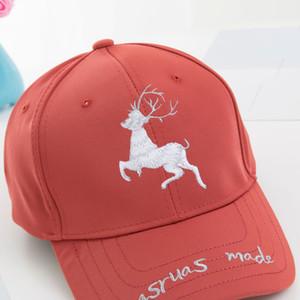 Spring and Summer Baseball Cap Tide Duck Cap Cartoon Deer Letter Hip-hop Sunscreen Cap Korean Version Hat