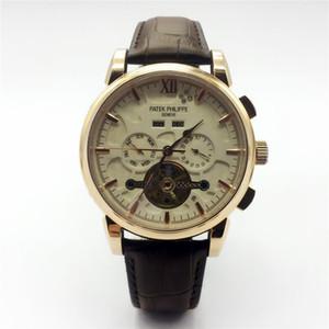 جديد جودة عالية للرجال ووتش الساعات الفاخرة أعلى العلامة التجارية التلقائي الساعات الميكانيكية الرجال الشهيرة الساعات relogio masculino montre أوم