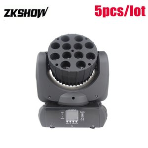 80% Discount 12* 10W RGBW Cree LED Beam Wash Moving Head DMX512 DJ Disco Party Wedding Stage Lighting Effect Projector Pro Sound System