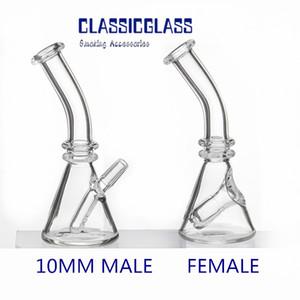 5-дюймовый мини бонг стеклянный стакан 10 мм мужской женский сустав Длина 127 мм водопроводная труба барботер стеклянный стакан