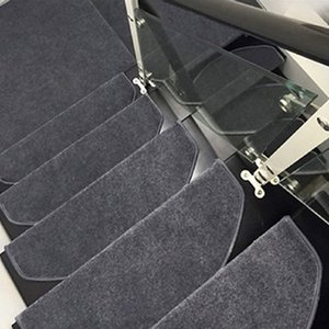 1pc Stair Treads Floor Mats Doormat Staircase Carpets Tappeti Slip Resistant Thickening Rugs for Stairs Tapete Durable Step Rug