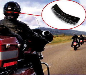 Capacete da motocicleta LED Brake Turning Signal Light