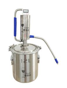 304 in acciaio inox 3 Gal Moonshine Distiller Torre di raffreddamento della bobina alcol casa Brewing Vodka Whisky Brandy Distiller