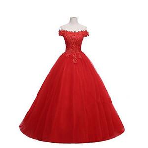 2020 고품질 레드 볼 가운 성인식 드레스 파란색 크리스탈 공식 파티 드레스 Vestidos 드 (15) ANOS QC1275