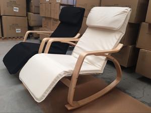 madera curvada relajado mecedora / reclinable / silla / ocio