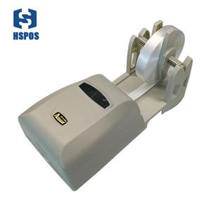 Solución de impresión de etiquetas de lavado de impresoras de transferencia térmica con soporte de papel cinta y etiqueta de ropa de seda fácil de imprimir