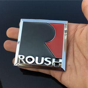 Per Ford Mustang 3D Metallo R ROUSH S40HP Parafango Tronco Coda Distintivo Emblema Adesivo Griglia Distintivo Distintivo Emblema