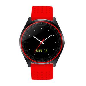 الساعات الذكية V9 مع فتحة لبطاقة SIM مدمجة لسجل النوم الدولة WIFI BLUETOOTH smartwatch لالروبوت ios men