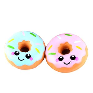squishy novelty antistress 11cm Lovely Doughnut Cream Scented Squishy Slow Rising Squeeze Toys Collection gift