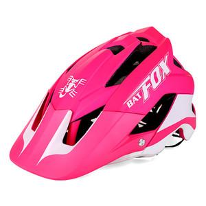 Équipement de protection vélo Batfox Femmes Hommes Casque de vélo Casque cycliste VTT VTT Vélo de route Casco Ciclismo Capacete
