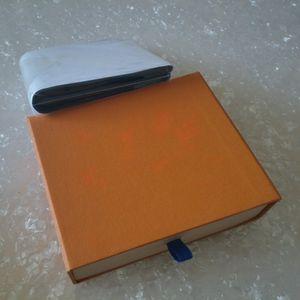 Presentes Carteira de moda preto Letra Folding Purse Red Classic curto para Homens Mulheres Preto Carteiras Sacos Com Box # 888
