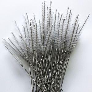 İçme boru paslanmaz çelik boru temizleyici 17.5 cm x 4 cm x 6 mm için Fırça temizleme Boru Temizleme Naylon saman Temizleyiciler