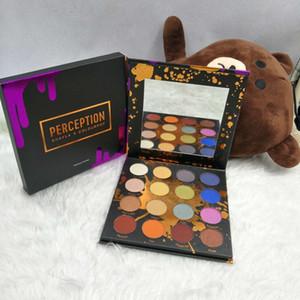 Venta caliente Nueva Paleta de Sombra de Ojos 16 Colores PERCEPCIÓN Shayla X Colourpop sombra de Maquillaje Paleta de Cosméticos envío gratis