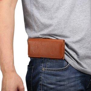 Universal Belt Clip PU Leather Waist Holder Flip Pouch Case for Freetel Samurai Raijin Rei 2 Dual