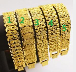 5 стиль широкий выбор издание 18k позолоченный Европейский Медный позолоченный вьетнамский золотые браслеты для мужчин и женщин ссылка Braceletss