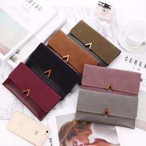 Weibliche Brieftasche Leder Frauen Brieftasche Ändern Deer Lange Design Haspe Geldbeutel Clutch Geld Münzen Kartenhalter Brieftasche Carteras