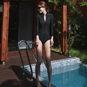 새 여자 수영복 Splashback 정장 원피스 블랙 수영복 여자 공주 Monokini 섹시한 Monokini 수영복