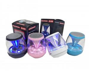 M28 Universal Wireless Bluetooth Lautsprecher Powered Subwoofer LED Licht Unterstützung TF Karte FM MIC Mini Digital Lautsprecher
