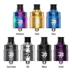 100% Original Geekvape Ammit MTL RDA Tank 22mm Rebuildable Dripping Atomizer With 3D Airflow System 12 Airflow Adjustment Options