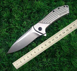Coltelli Zero Tolerance ZT0801 Coltello tattico di alta qualità CPM-D2 Coltello da sopravvivenza all'aperto multitool Coltello pieghevole tasca EDC