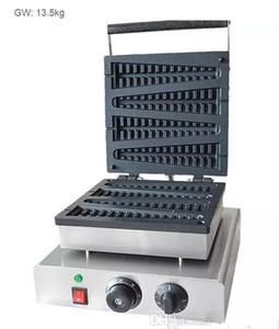 Электрическая коммерчески электрическая поставка создателя вафли lolly формы вала машины waffle lolly электрическая быстрая