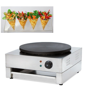 40CM non-bâton français Crêpe machine 110v 220v Maker crêpes croustillantes Egg Grill cuisson Snack Plate Pan