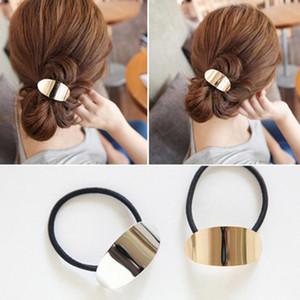 linea telefonica coreana stile capelli cravatte anello elastico elastici all'ingrosso coda fascia fai da te