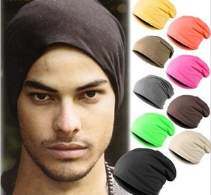 Candy-colored men's fashion pullover hat Knitted caps breathable hip-hop hip-hop caps