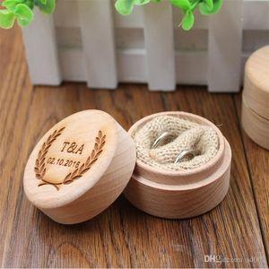 مجوهرات الحلي حلقة تخزين مربع woodiness المحمولة البسيطة سفر الحاويات علب الهدايا الخشبية الصغيرة للنساء 15 99yy zz