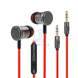 Nuevo 2018 V5 auriculares en la oreja los auriculares con micrófono Auriculares magnéticos informáticos auriculares para juegos aislamiento de ruido estéreo bajo 3.5mm