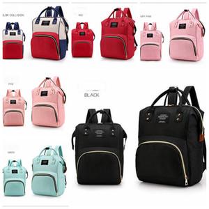 Пеленки материнства рюкзаки подгузники мама сумки ИНС коляска сумка бренд большой емкости сумка дизайнер уход дорожные сумки 6 цветов YL425