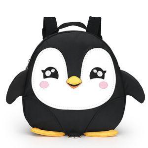 Мультфильм Пингвин крылья анти-потерянный малыш рюкзаки / водонепроницаемый детский сад детей школьные сумки / ранец для мальчиков и девочек Mochila Y18110107