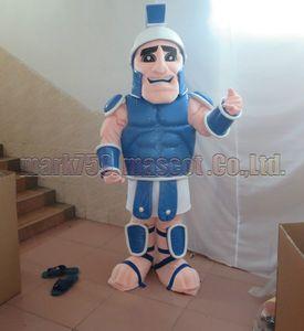 Roma Savaşçıları maskot kostüm Ücretsiz Kargo Yetişkin Boyutu, asker maskotu peluş oyuncak karnaval parti maskot fabrika satış kutladı.