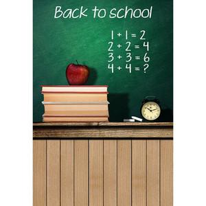 Balckboard Photography Photophone خلفية للطلاب العودة إلى اجباتها المدرسية التصوير الخلفيات للصور الاستوديو الفينيل القماش